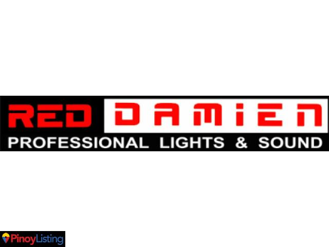 Red Damien   Professional Lights and Sounds