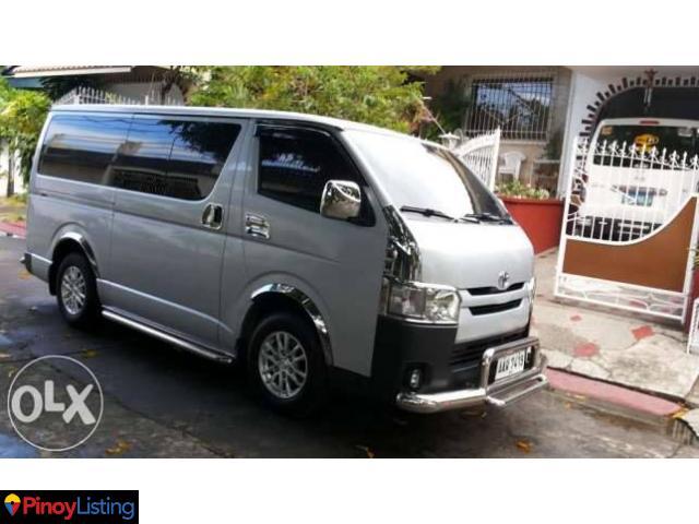 Van for Rent / Rent a Van / Van Rental car for hire manila philippines