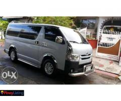 Van for Rent / Rent a Van / Van Rental car for hire manila philippines