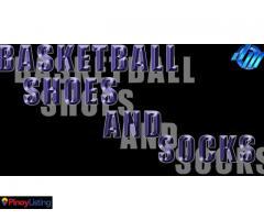 Basketball Shoes and Socks