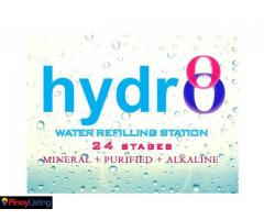 Hydr8 Water Refilling Station
