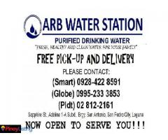 ARB Water Refilling Station
