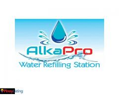 AlkaPro Water Refilling Station