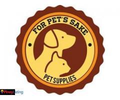 For Pet's Sake Pet Supplies