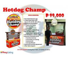 Hotdog Champ Food Cart