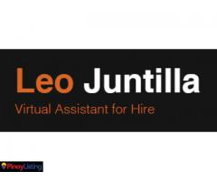 Leo Juntilla Virtual Assistant for Hire
