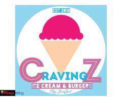 Cravingz Ice Cream & Burgers by JanJed
