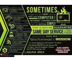 Esson PC LAPTOP REPAIR REFORMAT SERVICES LAGUNA