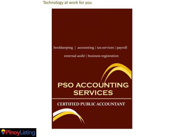 PSO Accounting and Bookkeeping Services