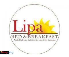 Lipa Bed and Breakfast