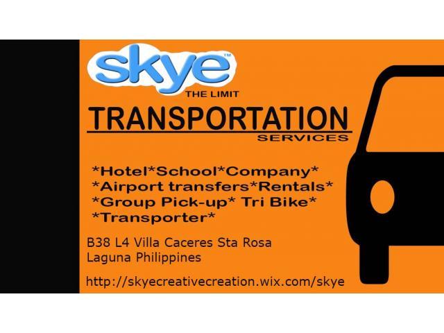 Skye The Limit Transportation