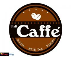 FAB CAFFE' Coffee Shop and Food Cafe Business For Franchise