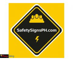 Safety Signs Philippines - SafetySignsPH.com