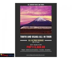 Tokyo and Osaka All-In Tour