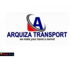 Arquiza tourist transport service