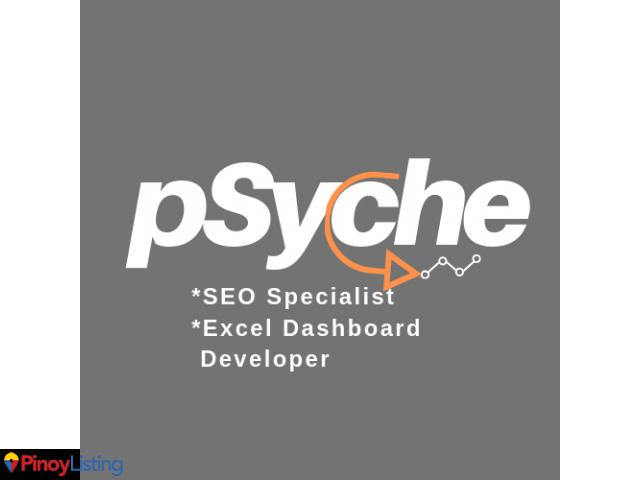 Psyche – SEO Specialist and Excel Dashboard Developer