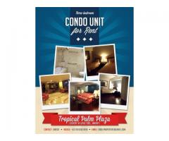 Three-bedroom Condo Unit for Rent at Makati City Philippines