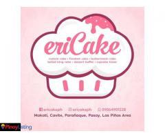 EriCake - customized cake in Manila and Cavite area