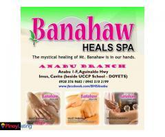 Banahaw Heals Spa Anabu 1-F/Doyets Imus Cavite