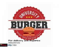 University Burger