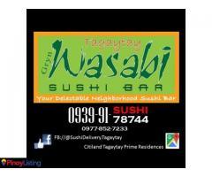 Gryn Wasabi Sushi Bar Tagaytay