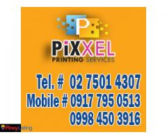 Pixxel Printing Services