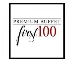 First 100 Premium Buffet