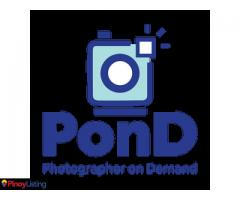PonD Photographer On Demand