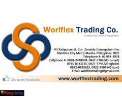 Worlflex Trading Co. Food Equipment