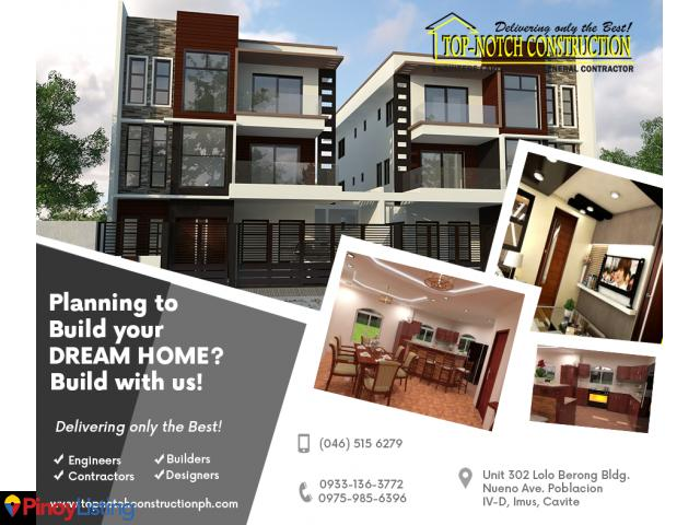 General Contractor in the Philippines (House, Commercial & Mid-Rise Construction)