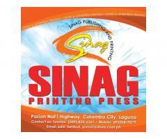 Sinag Publishing and Printing Services