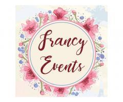 Francy's Events Management (Events Coordinator)