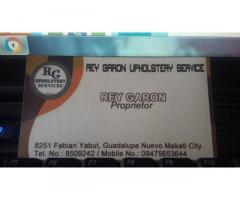 Rey Garon Upholstery Services