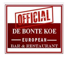 De Bonte Koe European Bar and Restaurant
