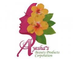 Ayesha's Beauty Products Corp. Main