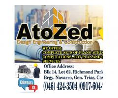 AtoZed Design Engineering and Construction