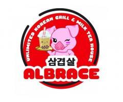 Albrace Unlimited Korean Grill & Milk Tea House