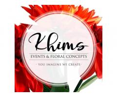 Khims Events and Floral Concepts
