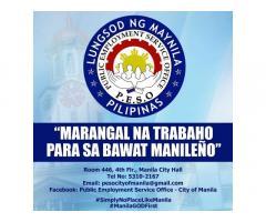Public Employment Service Office - City of Manila