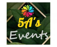 5 A's Events and Catering Services