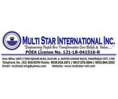 Multi Star International, Inc.
