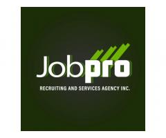 Jobpro Recruiting and Services Agency Inc.