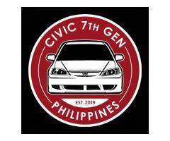 Civic 7th Gen Philippines