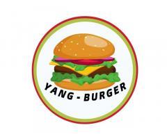 Yang Burger and Milktea
