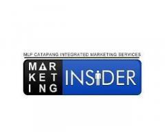 Marketing Insider Ph-Catapang Integrated Marketing Services