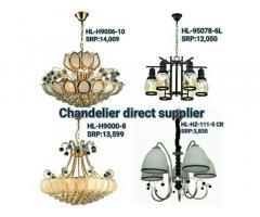 Chandeliers direct supplier