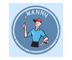 Manny Aircon Services and Consumer Electronics repair