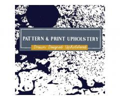 Pattern & Print Upholstery