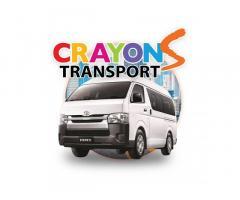 Van for rent - Transport service