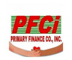 Primary Finance Company Inc Pasig Branch
